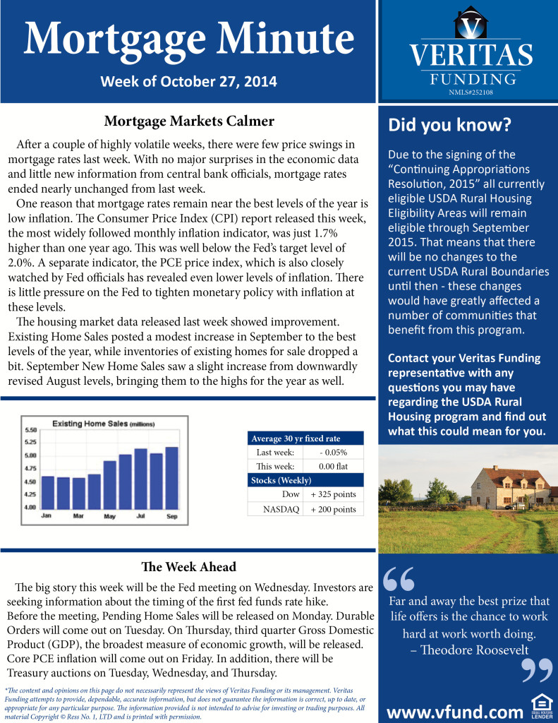 Mortgage_Minute 10 27 14